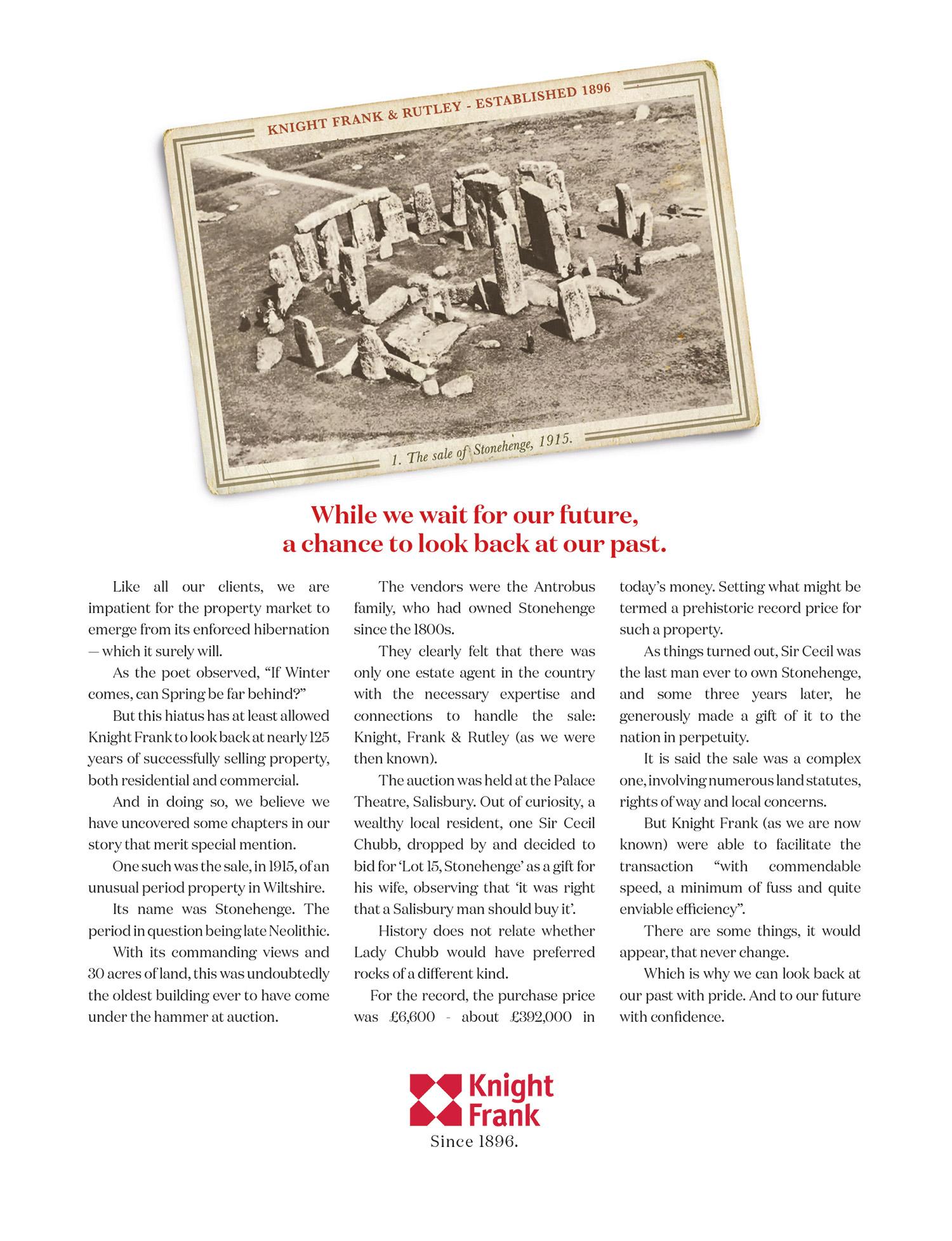 Knight Frank Sale of Stonehenge